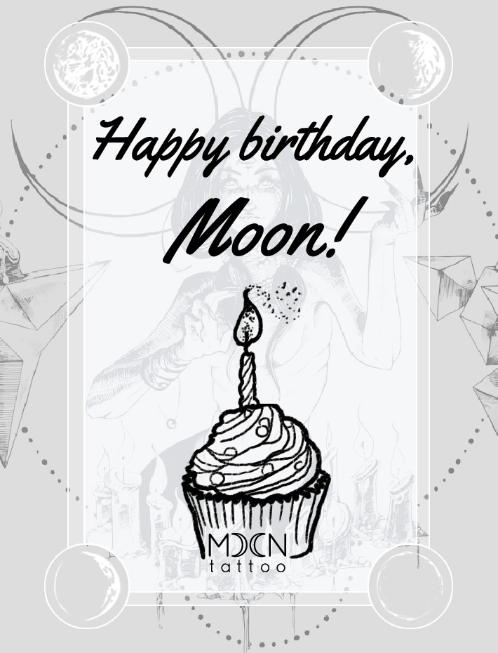 Moon Tattoo turned 1 years old!